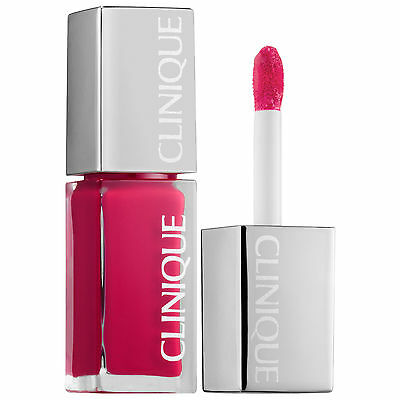Clinique go go pop #07 8ml lacquer lip colour primer base unboxed