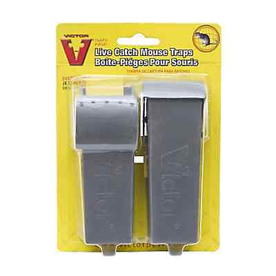 Victor Single Live Catch Mouse Trap 2 Pack - Rodent Pest Control M007