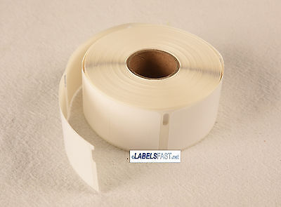 42 Rolls Dymo® Compatible 30373 Pricetag Rat Tail Style Thermal Film Labels