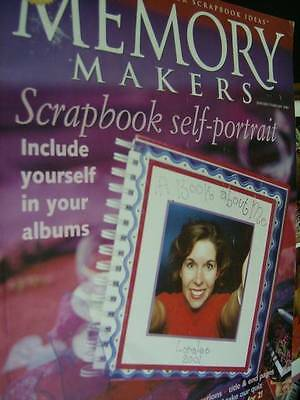 Memory Makers Scrapbook Self-Portrait January/February 2001 Magazine #22