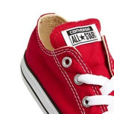 Converse Chuck Taylor Star Ox Red White Infant Toddler Boy Girl Shoes All Sizes