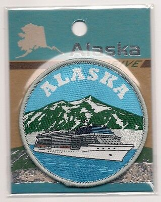 State Of Alaska Souvenir Patch - Cruise Ship