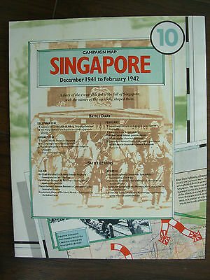 Images Of War Wwii Campaign Map Singapore December 1941 - February 1942