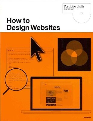 How to Design Websites by Alan Pipes Paperback Book (English)