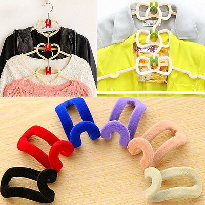 Closet Organizer Shelves System Shelf Rack Clothes Storage Wardrobe Hanger Hook