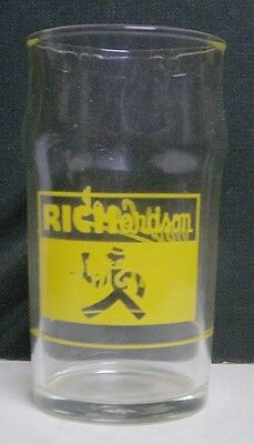 1940's Richardson Soda Fountain Glass - Rochester, NY - Briskee