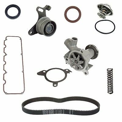 BMW E28 E30 528e 325 Timing Kit Belt Tensioner Water Pump Valve Cover Gasket