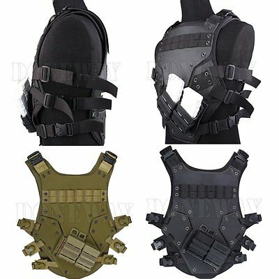 Adjustable Cosplay TF3 Vest Harness Chest Rig Tactical Hunting Airsoft CS Game