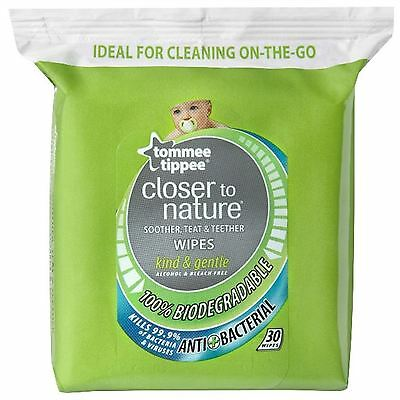 Tommee Tippee Closure To Nature Baby Teat & Soother Hygienic Safe Cleaning Wipes