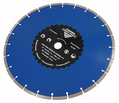 "14"" / 350mm High Speed Segmented Diamond Cutting Disc - Angle Grinder Disk"