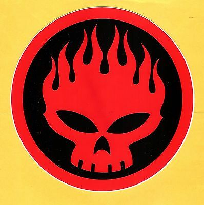 THE OFFSPRING - LARGE STICKER 15cm - UNUSED - 2000 - CONSPIRACY OF ONE