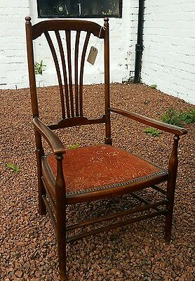 Antique bedroom bathroom chair