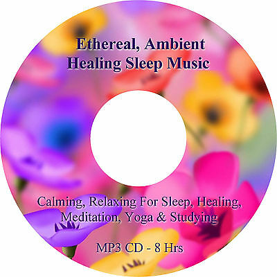 8 Hours Ethereal Ambient Healing & Sleep Music MP3 CD Relaxation Meditation Spa