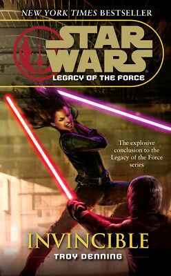 Troy Denning - Star Wars: Legacy of the Force IX - Invincible (Paperback)