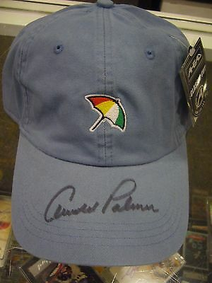 Arnold Palmer Golf Champion Signed Baseball Cap Jsa Authentication