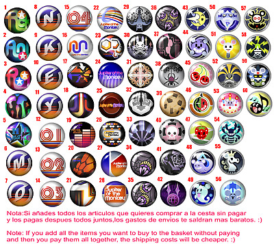 Chapa Button Badge The world end with you snake jupiter of the monkey mus rattus