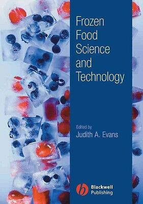 Frozen Food Science and Technology by Judith A. Evans Hardcover Book (English)