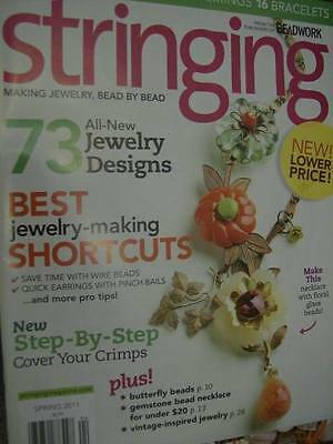 Stringing Magazine Spring 2011 -73 Designs-31 Necklaces 26 Earrings 16 Bracelets