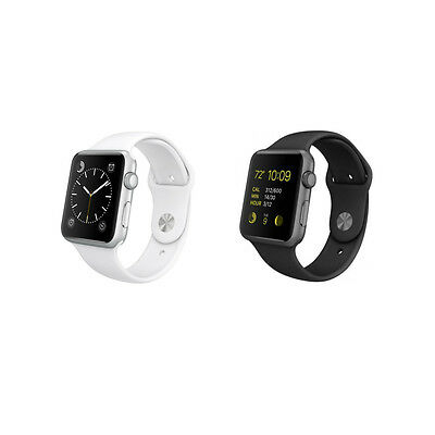 Apple Watch Smartwatch 42mm Aluminum Case with Sport Band