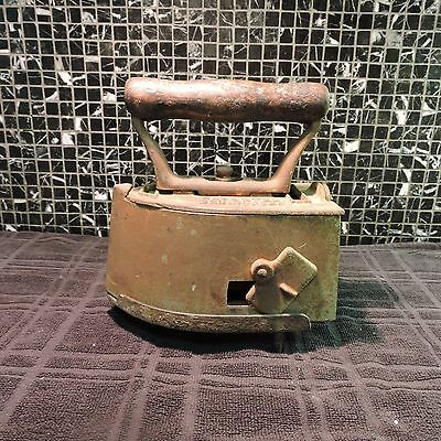"Antique Cast Iron ""The Marvel"" Clothes Iron Patented December, 30,1924"