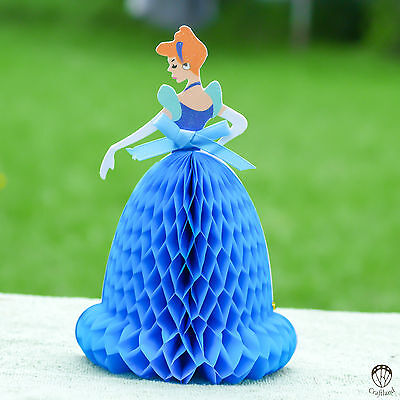 3d pop up cards - birthday cards for kids - fairy tale princesses collection