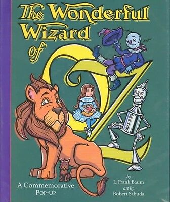 The Wonderful Wizard of Oz: A Commemorative Pop-Up by Robert Sabuda Hardcover Bo