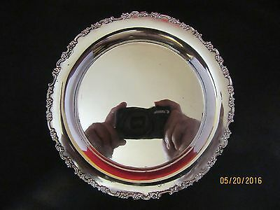Tiffany Sterling Plate Great Condition