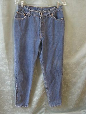 Vintage 80's Levi's 501 Button Fly Jeans Size 15 High Waist Tapered Made in USA