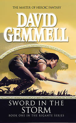 David Gemmell - Sword In The Storm: (The Rigante Book 1) (Paperback)