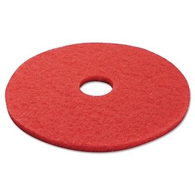 PAD Standard 17-Inch Diameter Buffing Floor Pads, Red (4017RED)