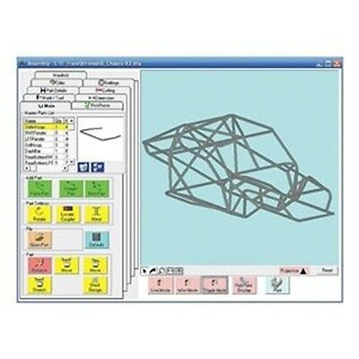 Baileigh BT-SE Bend-Tech Tube and Pipe Bending Layout Software