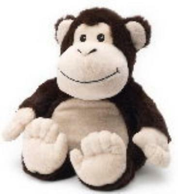 MONKEY - WARMIES Cozy Plush Heatable Lavender Scented Stuffed Animal