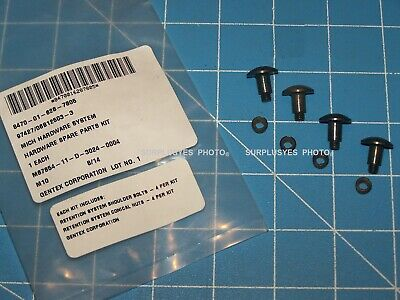 Screw Set Chin Strap Helmet Retention LWH ACH Military Army USMC Genuine w P38