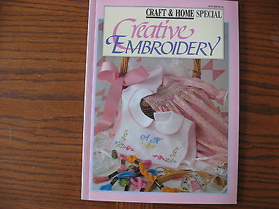 Creative Embroidery   Craft and home special. Simple needlework projects
