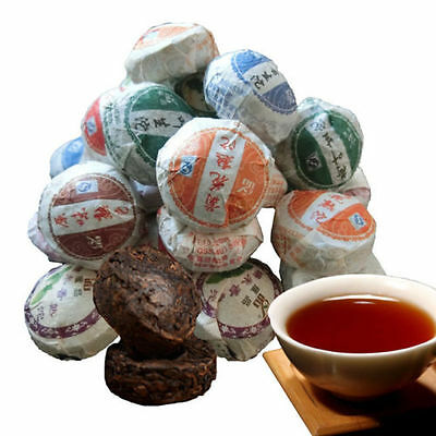 10 pcs 50g Chinese Puer Tea  Raw and Cooked Puerh  tea compressed Organic