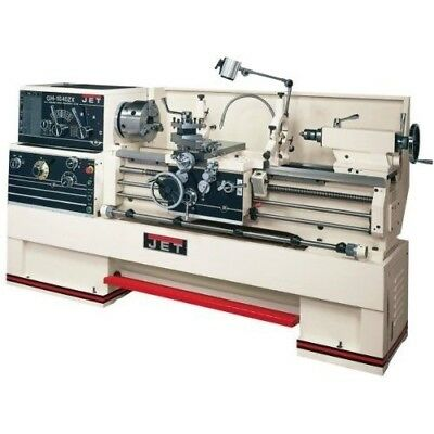 JET GH-1640ZX Lathe with 2-axis ACU-RITE DRO 200S Installed