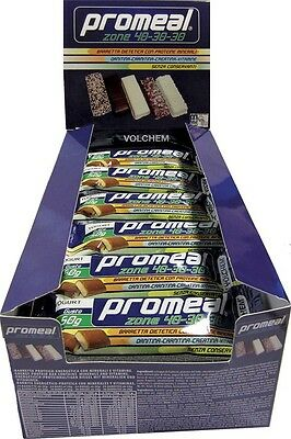 Volchem - PROMEAL ZONE 40-30-30 - 24x50g gusto Cacao