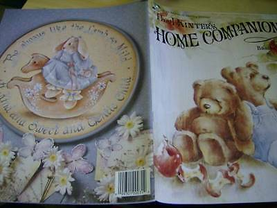 Painter's Home Companion Painting Book #2 Myers, Wilson- Teddy Bears, Children-