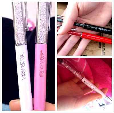 Lots 100 Custom Personalized  FREE ENGRAVING LOGO Touch Screen Crystal Style Pen
