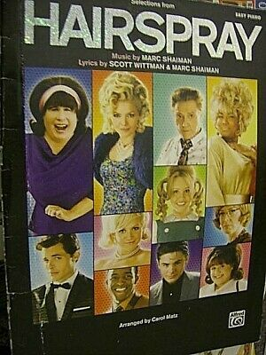 Selections From Hairspray Movie Music Book Easy Piano, Paperback, 2007