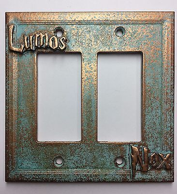 Lumos/Nox (Harry Potter) Double Decorator Light Switch/Outlet Cover