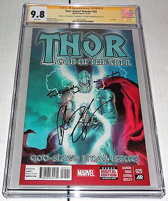 Thor: God of Thunder #25 CGC SS Signature Autograph ReMarked CHRIS HEMSWORTH