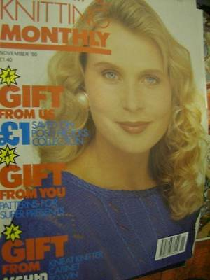 Machine Knitting Monthly Magazine November 1990- 13 Styles/Projects- All Shown-
