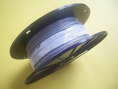 """Vinyl Coated STAINLESS STEEL Cable,1/16"""" -  3/32"""", 7x7, 250 ft reel"""