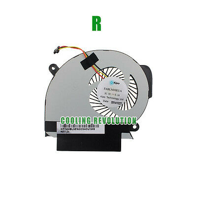 NEW FABLN00EUA CPU /& GPU Cooling Fan For Toshiba Satellite S55T-B S55T-B5150