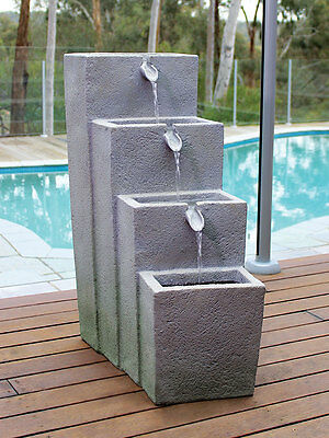 Bagnarsi Water Fountain Feature Bunnings RRP $364 Garden W/ Built in Pump