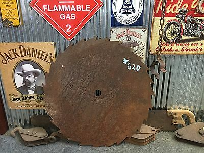 Vintage Industrial Rustic Milling Saw Blade Bar Man Shed item #620
