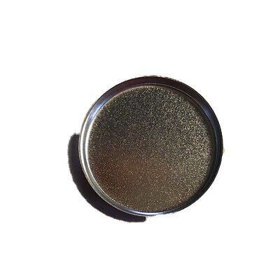 Magnetic Eye shadow Tin Pans 26mm Dia. For Pressed Eyeshadow or Poured Cosmetics