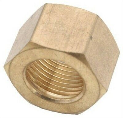 Anderson Metal 00761-03 Brass Compression Nut 3/16 (Pack of 10),PK10