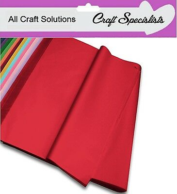 Acid Free Luxury Quality Tissue Paper - 14 Colours To Choose From